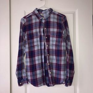 Purple Classic Fit Flannel